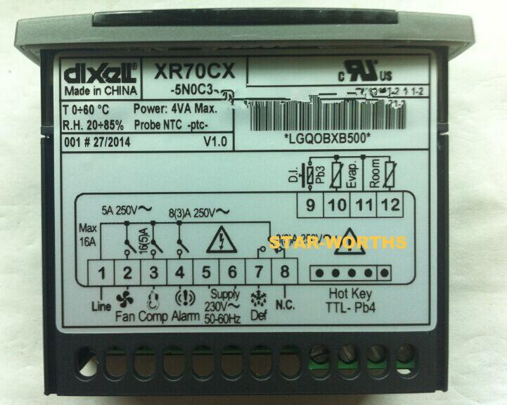 Temperature Controller compatible with Dixell Danfoss Refrigeration Thermostats